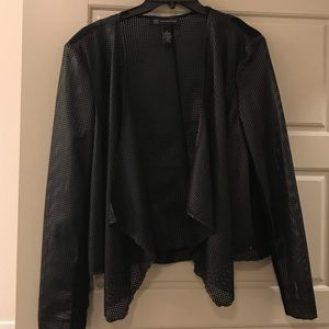Unique INC mesh blazer.